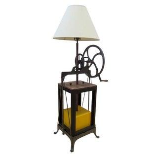 Butter Churn Floor Lamp