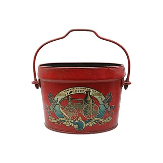 English Fire Brigade Bucket