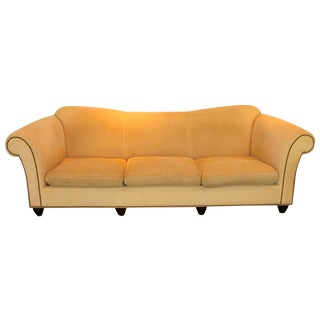 Down Rolled Arm Sofa by Barbara Barry for Baker