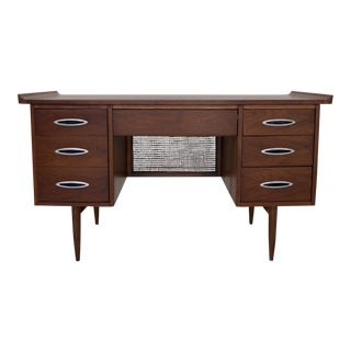 Broyhill Sculptra Mid-Century Modern Desk