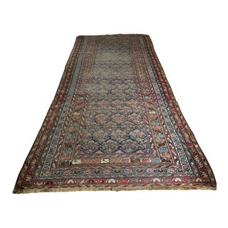 "Vintage Traditional Carpet Runner - 4'2"" X 10'4"""