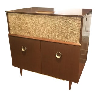 Mid Century Modern Record Console Philco Stereophonic