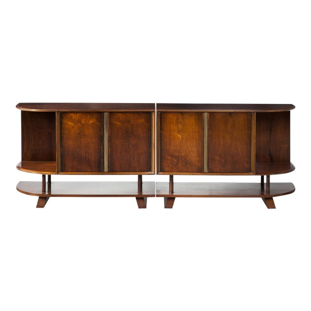 Two-piece credenza - Image 1 of 8