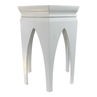 Octagonal Off-White Moroccan Table
