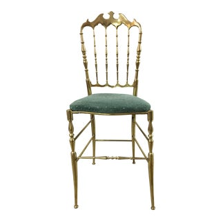 Chiavari Solid Brass Chair