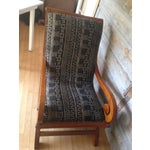 Image of Classic Curl Arm Treasured Bogolan Chair