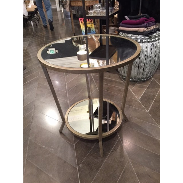 Julian Chichester Two Tiered Mirrored Table - Image 2 of 7