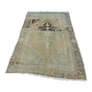 Antique Tribal Carpet - 4′ × 6′5″