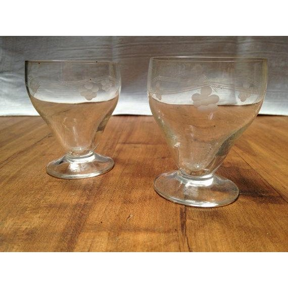 1930's Glass Cordial Set - Set of 9 - Image 4 of 6