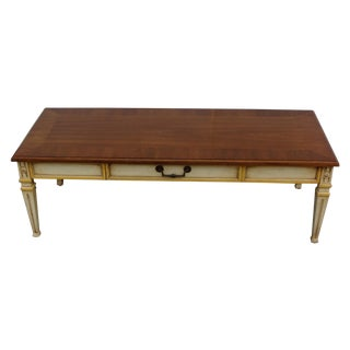 Mid-Century Heritage Walnut Coffee Table