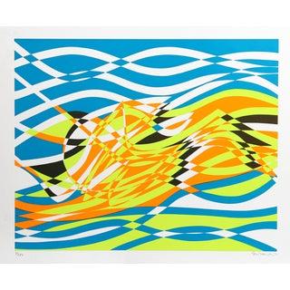Stanley Hayter, Untitled 4, Silkscreen