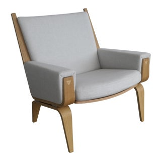 Hans Wegner Low Easy Chair, Model Ge501 for Getama