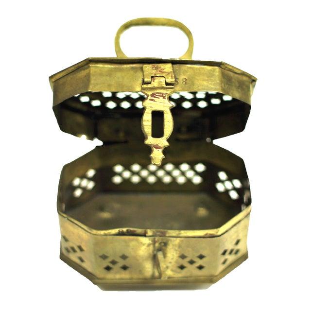 Vintage Brass Cricket Box - Image 3 of 3