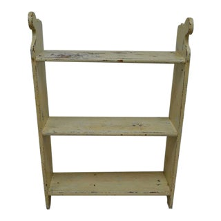 Painted Pine Kitchen Shelves