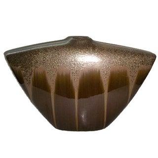 Hollywood Regency, Mid Century Large Shimmery Vase