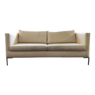 Off-White Modern Sofa