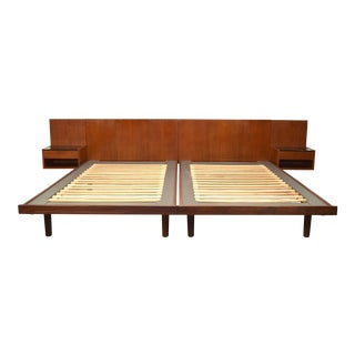 Hans J. Wegner for Getama King Size Bedframe