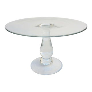 Tall Glass Cake Stand