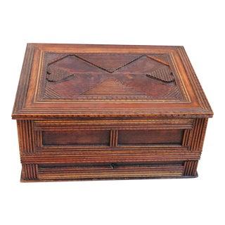 Antique Folk-Art Lap Desk