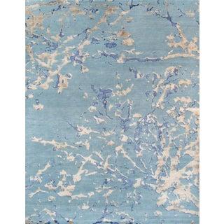 "Pasargad Modern Silk & Wool Area Rug - 6'3"" x 9'"