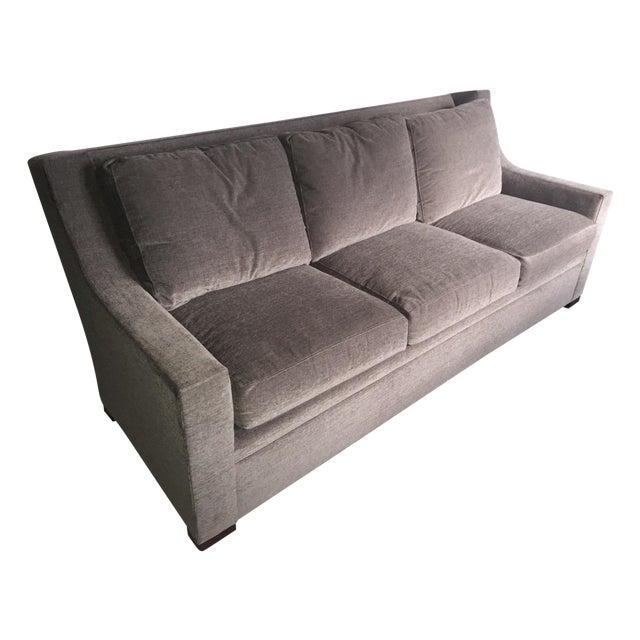 Henredon Contemporary Gray Sofa - Image 1 of 7