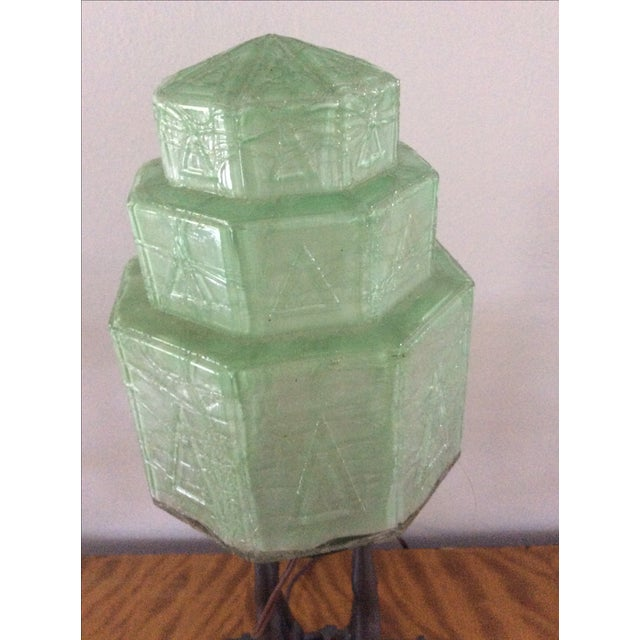 Image of Original Frankart Art Deco Lamp