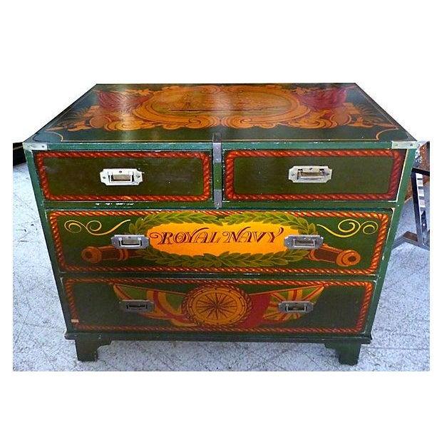Painted Nautical Theme Dresser - Image 2 of 10