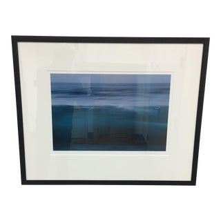 Eddie Soloway Blue Water Color Photograph