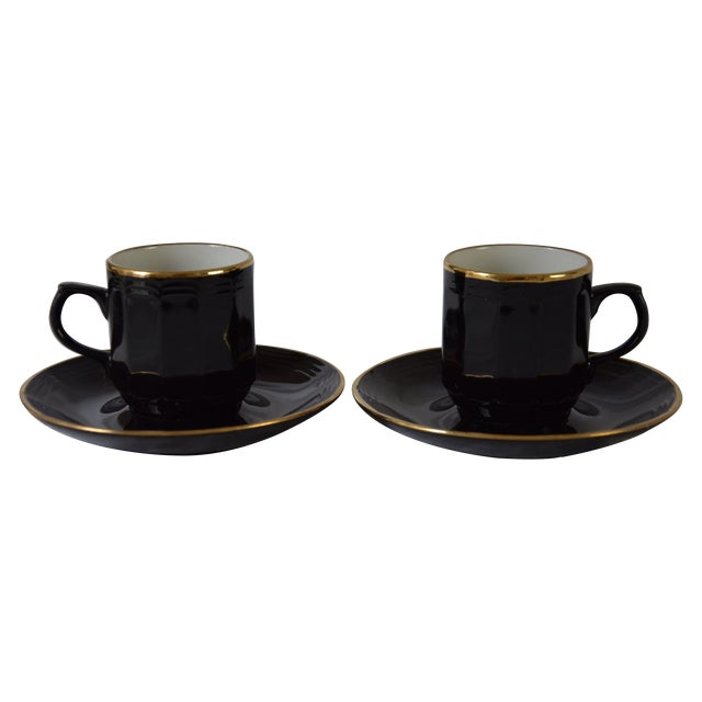 Vintage West German Demitasse Cups - A Pair - Image 1 of 4