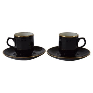 Vintage West German Demitasse Cups - A Pair