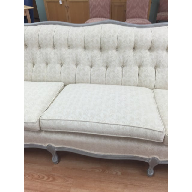 Vintage French Provincial Sofa - Image 4 of 11
