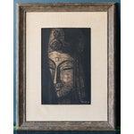 Image of Signed Shuzo Ikeda Woodblock Print
