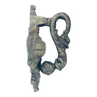 Cast Iron Gargoyle Knocker