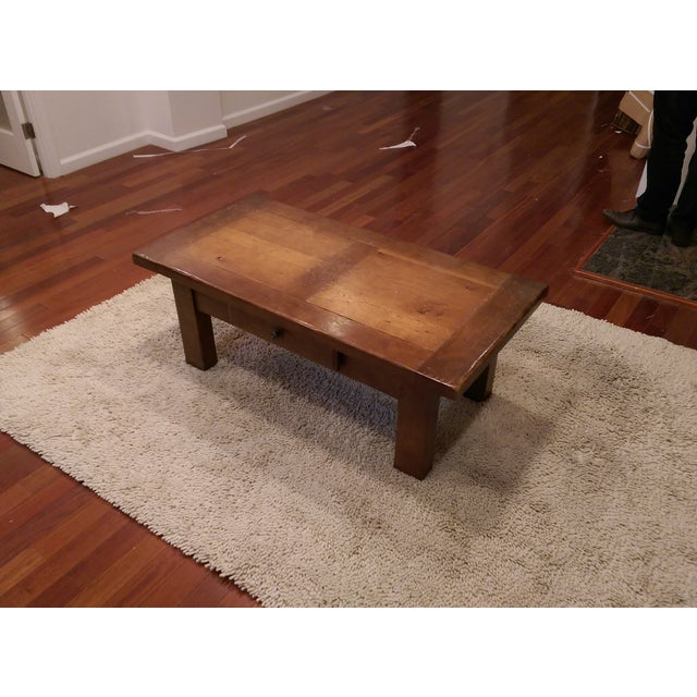 Image of ABC Carpet & Home Solid Wood Coffee Table