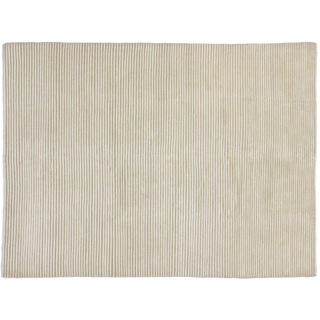 Creamy Beige Transitional Area Rug - 5'9 x 7'8 - Image 4 of 4