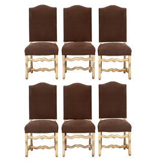 French Os Du Mouton Dining Chairs - Set of 6