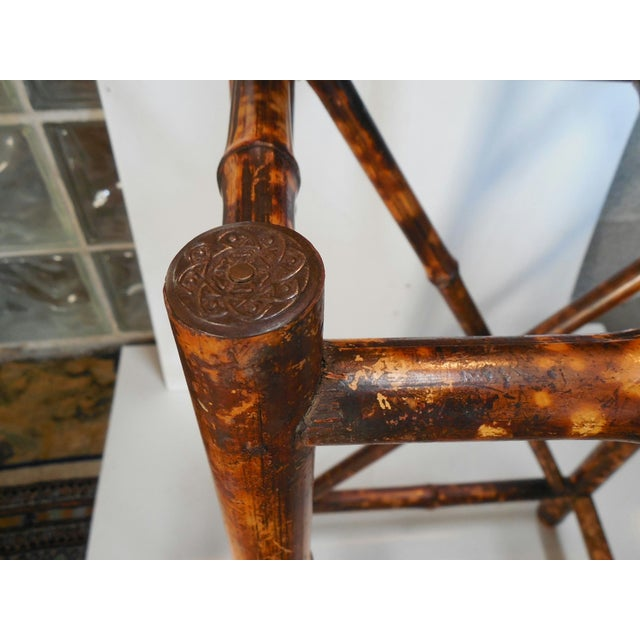 English Arts & Crafts Stick Stand with Tiles - Image 7 of 7
