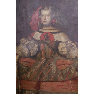 19th Century Painting of Spanish Infanta after Diego Velázquez