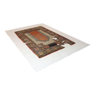 Sarreid Ltd Wool & Linen Carpet - 6' X 9'