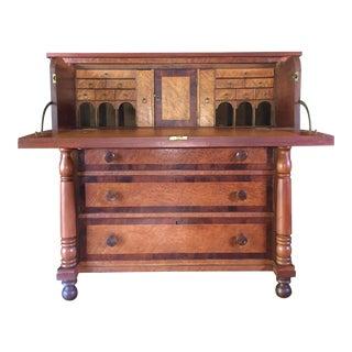 Birdseye Maple Butler's Desk