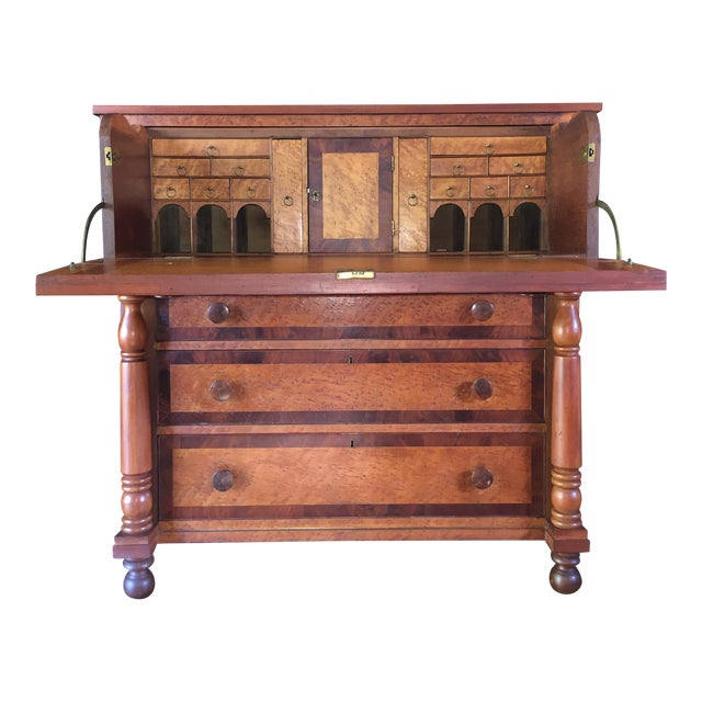 Image of Birdseye Maple Butler's Desk
