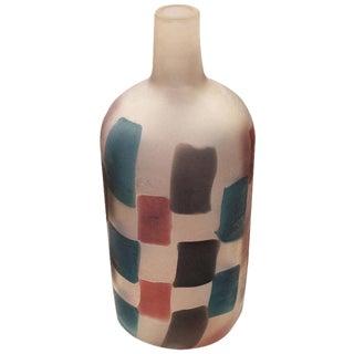 "Fulvio Bianconi ""Pezzato"" Vase for Cenedese"