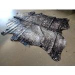 Image of Gambrell Renard Silver & Black Cowhide Rug - 6′ × 7′