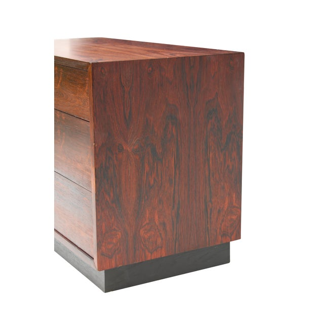 Image of Harvey Probber Rosewood Chest Dresser
