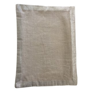 Framed Linen Pillow Covers - A Pair
