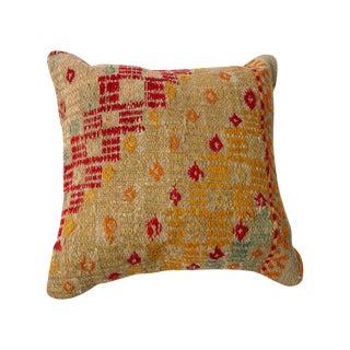 Small Vintage Turkish Kilim Pillows