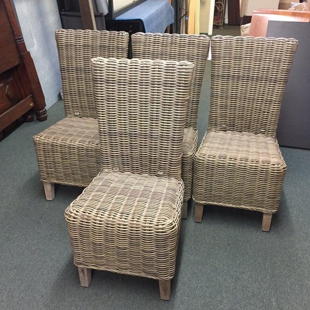 Restoration Hardware Majorca Side Chairs - Set of 4 - Image 2 of 11