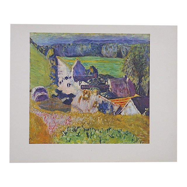 Vintage Bonnard Lithograph - Image 1 of 3
