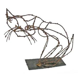 Rare Marcello Fantoni Pussycat Sculpture
