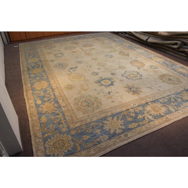 Turkish Anatolia Oushak Area Rug - 10' X 14' - Image 4 of 9